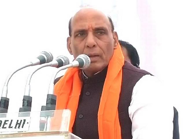 With no majority in Rajya Sabha, can't pass law for Ram temple this time, Rajnath Singh says