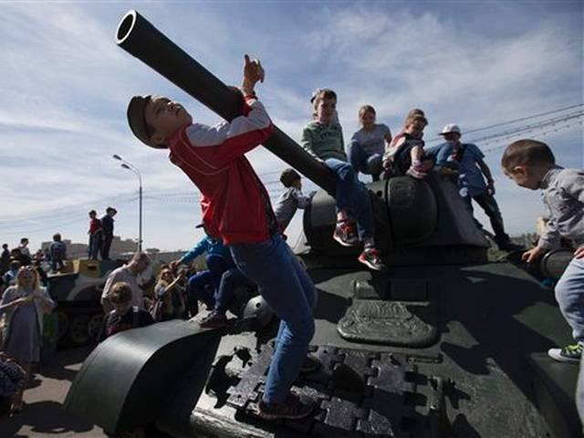 victory day parade russia