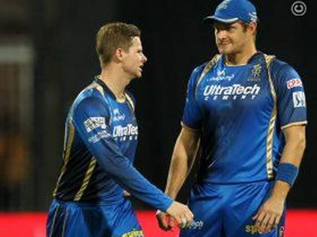 Shane Watson_IPL_Rajasthan Royals_Steve Smith_Chris Morris_