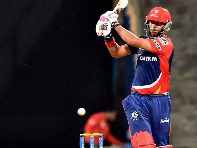 Yuvraj Singh_Delhi Daredevils_IPL_