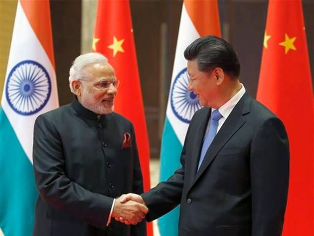 Modi visits Xi'an City Wall_takeup_border_issue