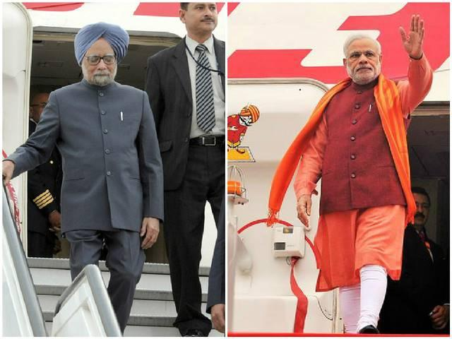 Modi vs Manmohan: Both Global Roamers