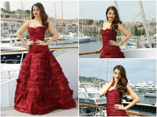 aishwarya appearence in cannes steal everyones heart