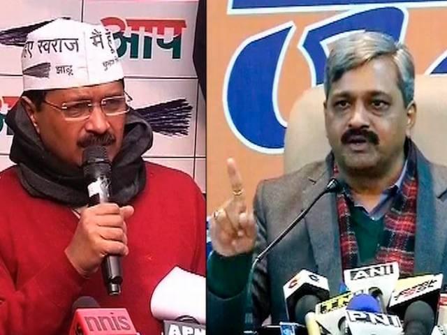 Arvind Kejriwal_BJP_Satish Upadhyay_AAP_