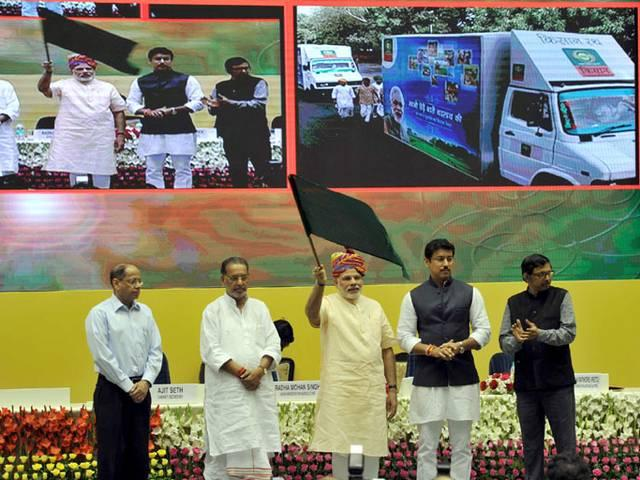 Modi reaches out to farmers, launches Kisan Channel