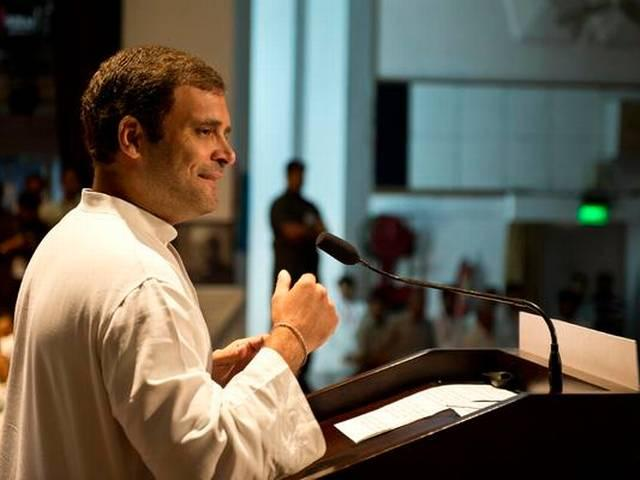 PM Modi took lessons from Manmohan on economy: Rahul