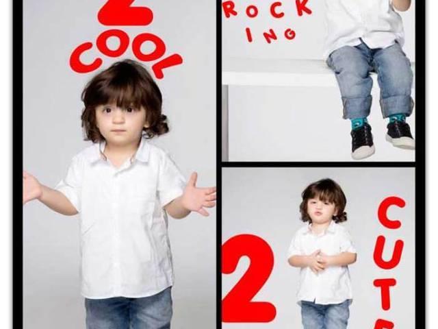 AbRam's photo shoot on second birthday