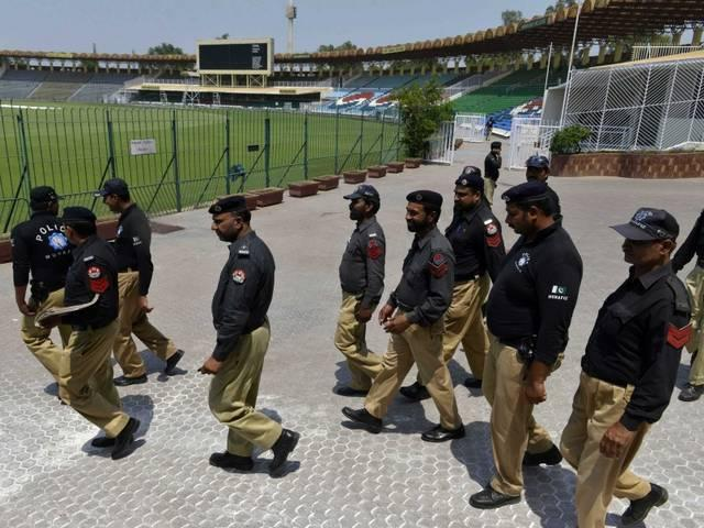 Two Killed in Suicide Blast Outside Gadaffi Stadium_Pakistan Cricket Team_Zimbabwe Cricket team_