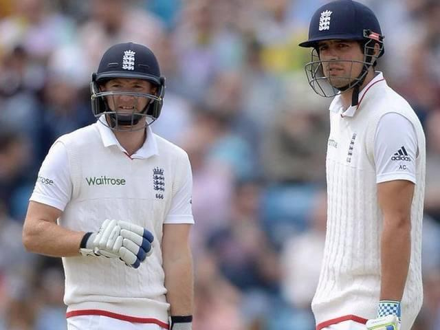 England Cricket Team_New Zealand Cricket Team_Alistair Cook_Adam Lyth_Tim Southee_