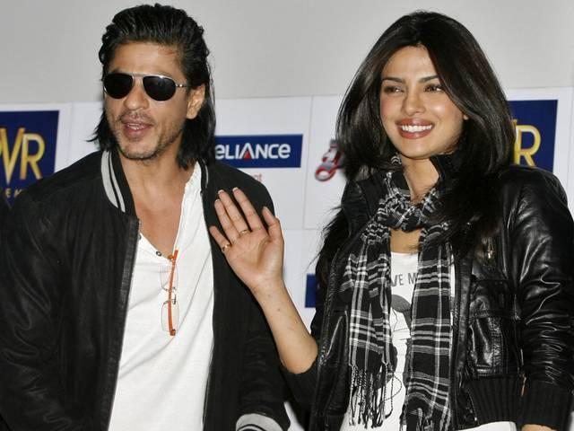 Shahrukh Khan, Priyanka Chopra are the King and Queen of the social media