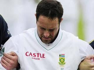 cricketer injured