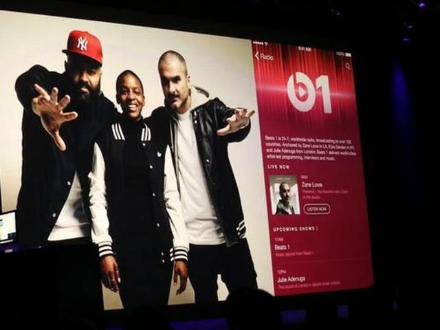 Apple Launches Beats1