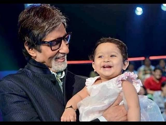 amitabh wants to learn the art of non stop talking from aradhya