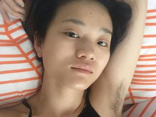 armpit hair photo contest gets viral on the chinese social media