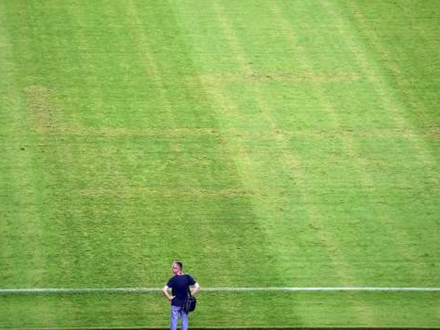 Swastika Appears On Football Pitch During Croatia V Italy Match In Split