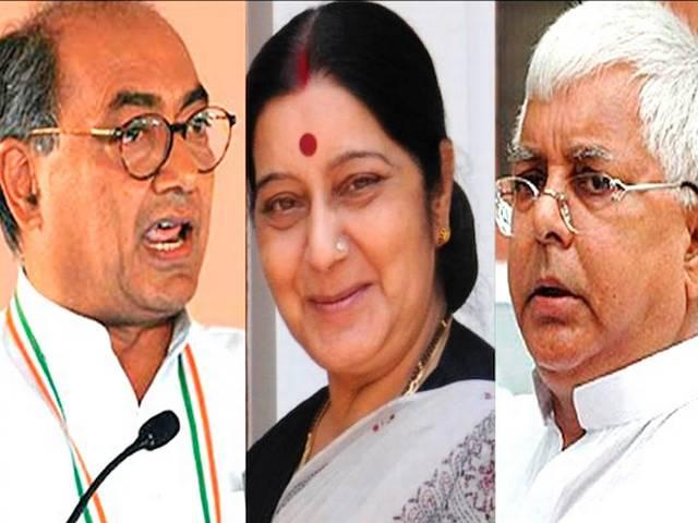 Lalit Modi Visa Row:Digvijay attacks Sushma