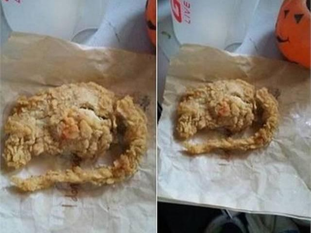 After Worms, KFC Serves Fried Rat Instead of Chicken Wings