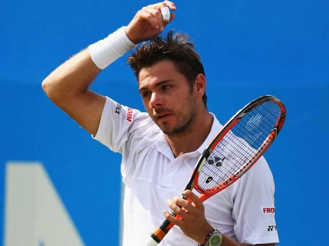 wawrinka queens club
