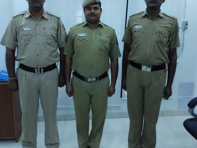 delhi police good job