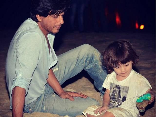 Shah Rukh Khan tweeted, 'yes I am guilty of being that irritating father who bores everyone with his kids' pics'