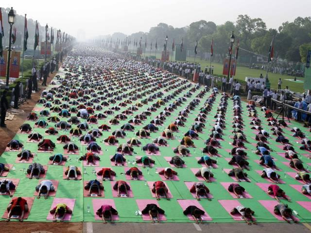 yoga_day_army_preparations