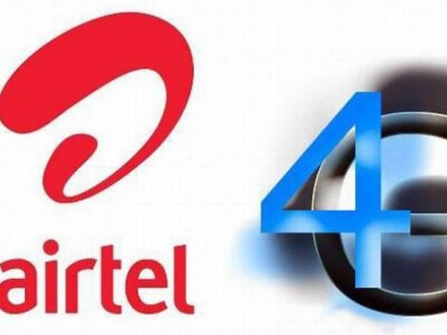 airtel  launched 4g trial in delhi ncr