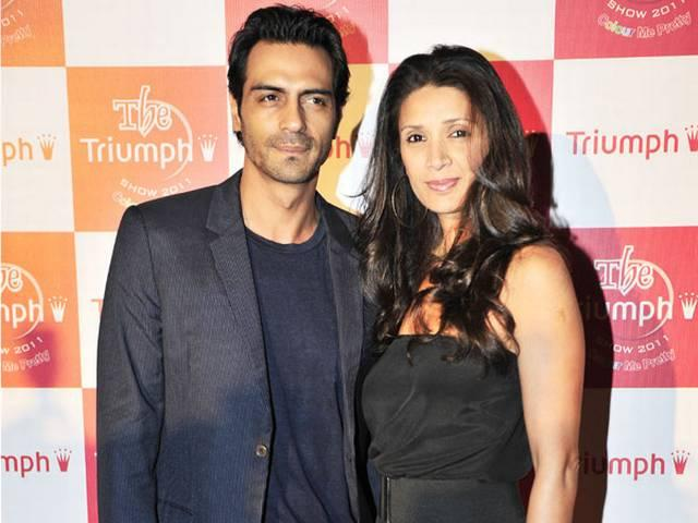 arjun rampal and meher planning divorce
