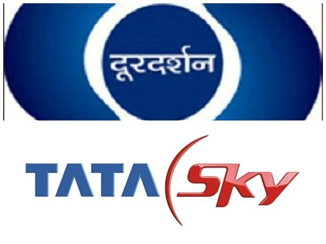 doordarshan demands for action against tata sky