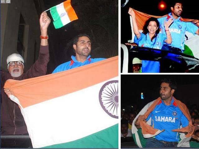 Case against Amitabh, Abhishek for insulting tricolour