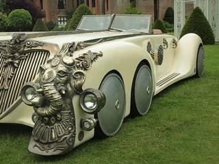 The Six-Wheeled Nautilus Car is up For Sale