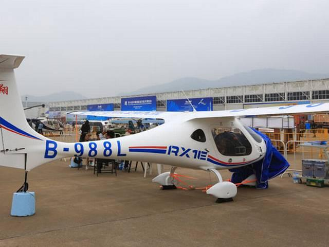 chinese electric plane