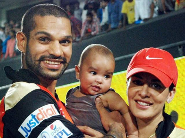 Shikhar Dhawan_Team India_Fathers Day_