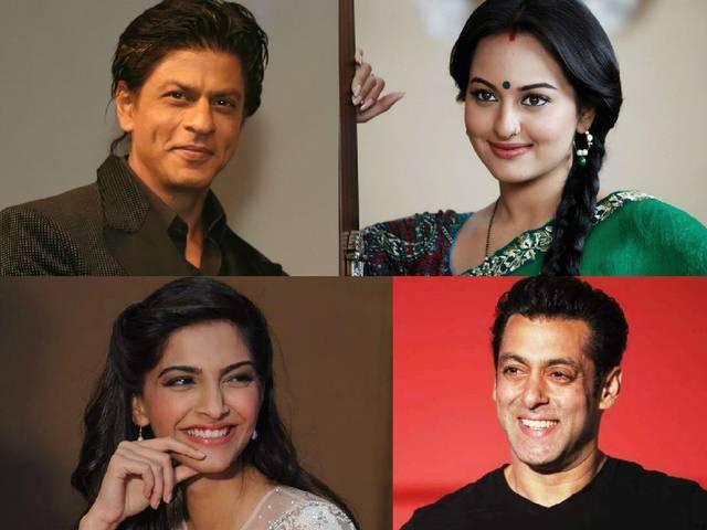 Actor_Shah Rukh Khan_SALMAN_SONAKSHI_SONAM