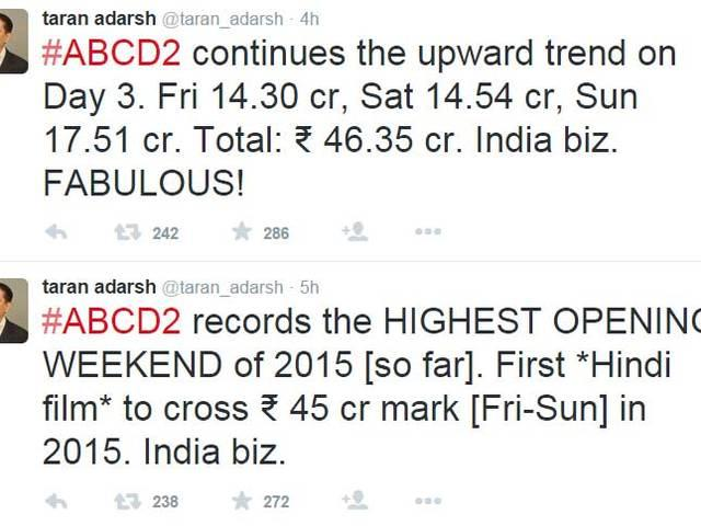 Varun – Shraddha's 'ABCD 2′ is the highest opening weekend grosser, collects Rs. 46.35 cr