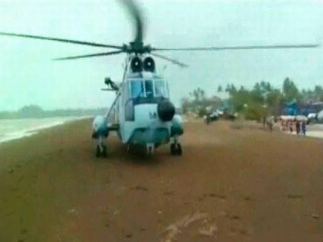 Daman coast guard saves all from a sinking cargo ship going from Porbandar to Mumbai