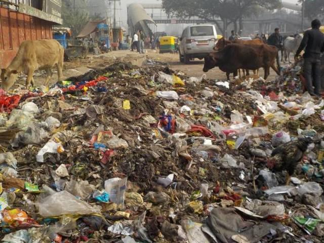 waste material