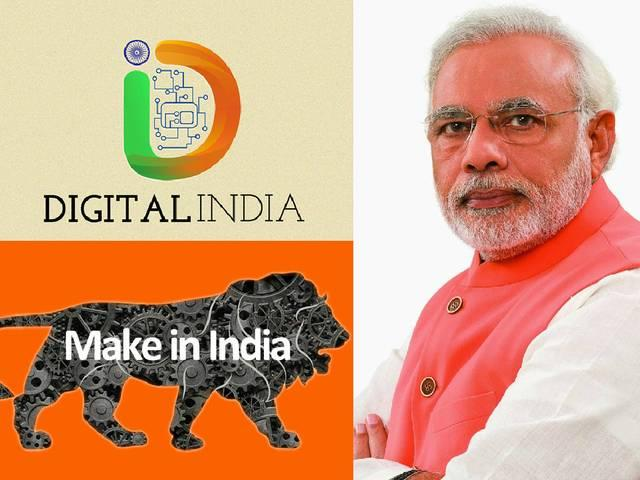 DIGITAL INDIA_MAKE IN INDIA_NARENDRA MODI