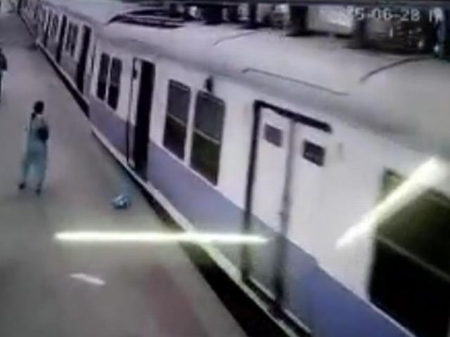 CHURCH GATE STATION ACCIDENT