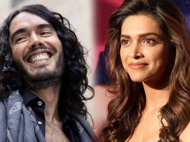 Russell Brand Can 'Fall in Love with and Marry' Deepika Padukone