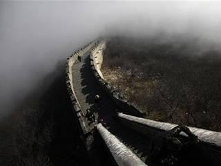 30% part of the great wall of chian has got damaged