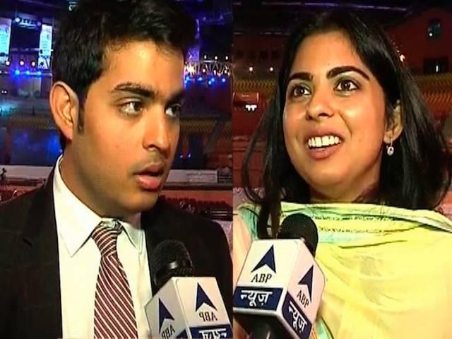 Digital India| ABP News talk tp Mukesh Ambani son Akash & Daughter Isha