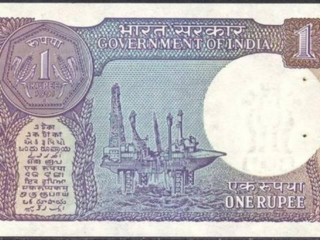 One Rupee Note_