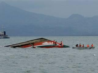 Ferry capsizes in the Philippines; at least 38 dead