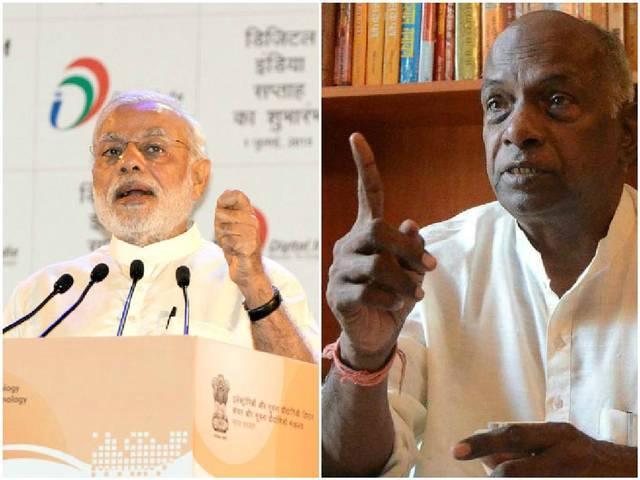 Govindacharya on modi government
