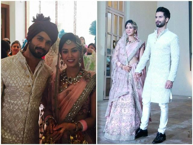 JUST MARRIED: First picture of Shahid Kapoor, Mira Rajput's wedding