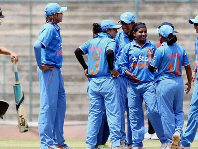 indian women team won series against new zealand