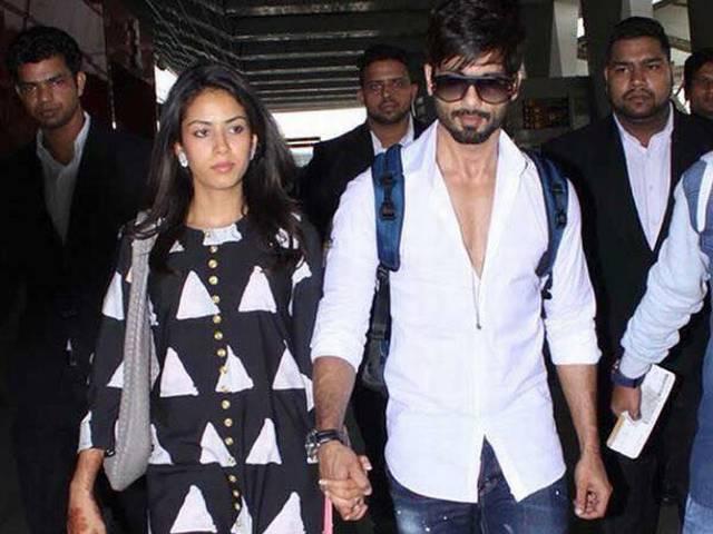 Spotted: Shahid Kapoor & Mira Rajput Are On Their Way To Mumbai