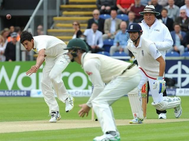 ASHES first test