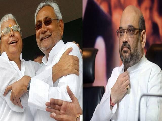 Lalu, Nitish counter Amit Shah's claim on first OBC PM