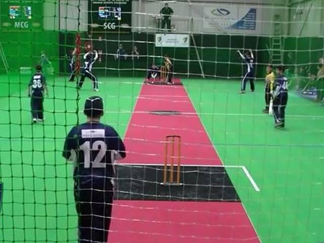 Indoor player takes triple hat-trick_Australia
